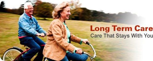 Long Term Care Insurance from Insurance Suffolk image. Care that stays with you